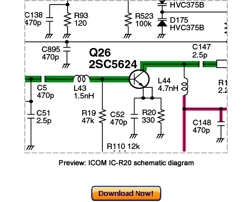 Product picture ICOM IC-R20 Service Repair Manual Download